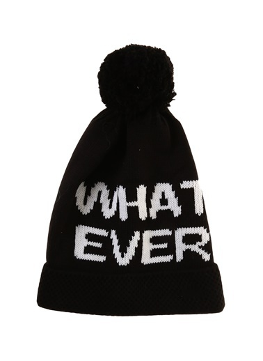 Bay Şapkacı Bere Siyah